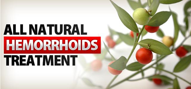 Hemorrhoid alternative medicine treatment